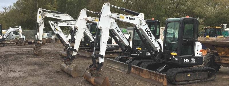 Digger Hire Derby - E10 to E80 8 Ton Diggers and Breakers - Mobile