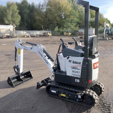 Digger Hire Derby - Image of digger at the derby plant depot - one of our range of diggers and excavators for hire