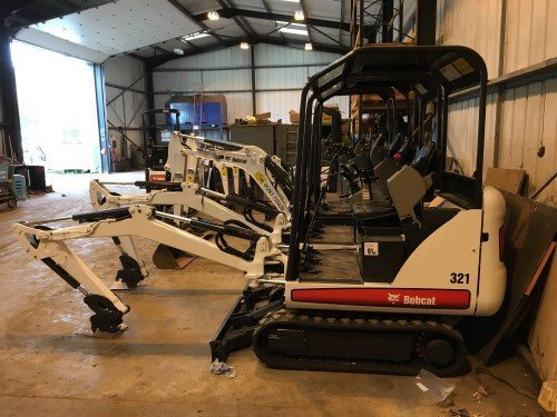 Used plant for Sale in Derby - Bobcat 321 digger and breaker